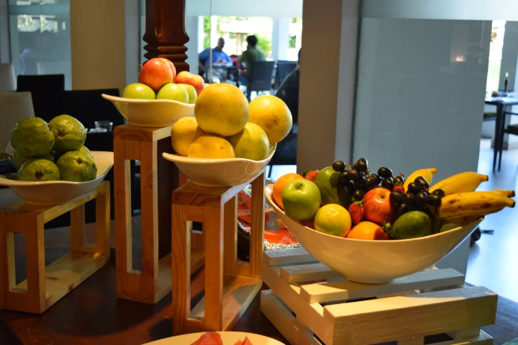 Fruit stall at Vivanta Colombo, Airport Garden