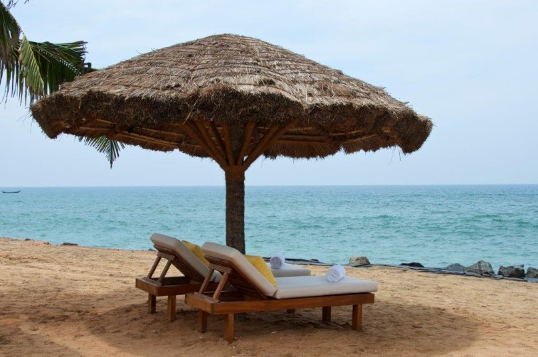 Sunbed at Beaches in Kerala at Taj Green Cove Resort & Spa, Kovalam