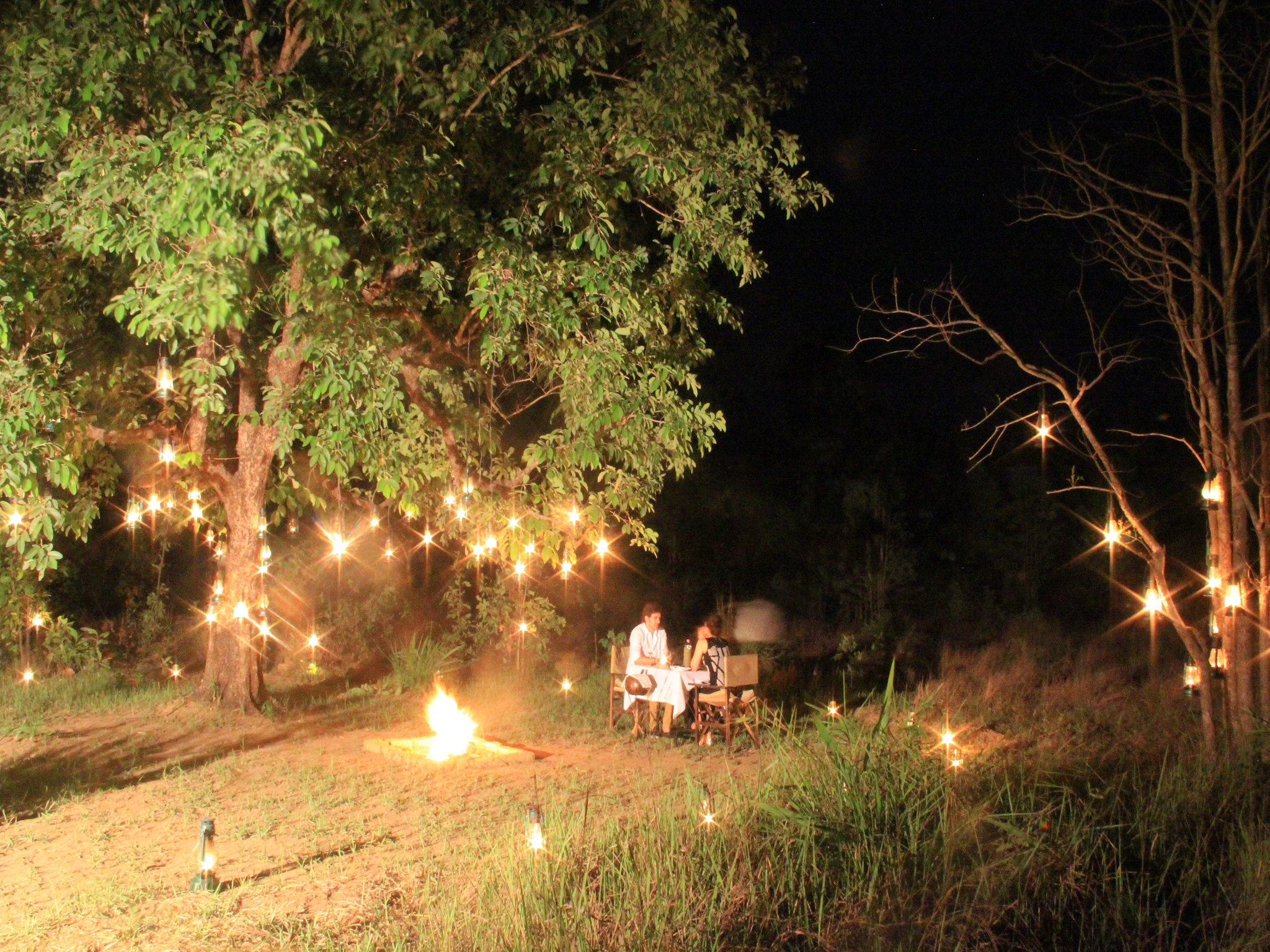 Private Dining at Banjaar Tola, Kanha National Park