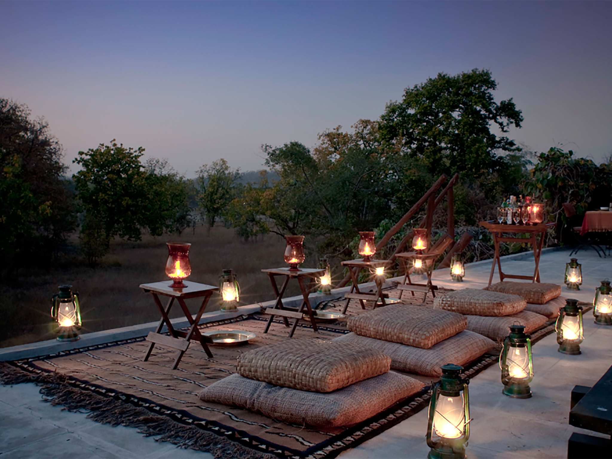 Chawki Dining Experience at Mahua Kothi, a Taj Safari Lodge