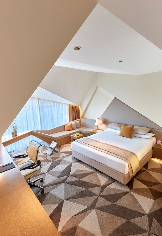 Aerial View of Premium Room at Vivanta New Delhi, Dwarka