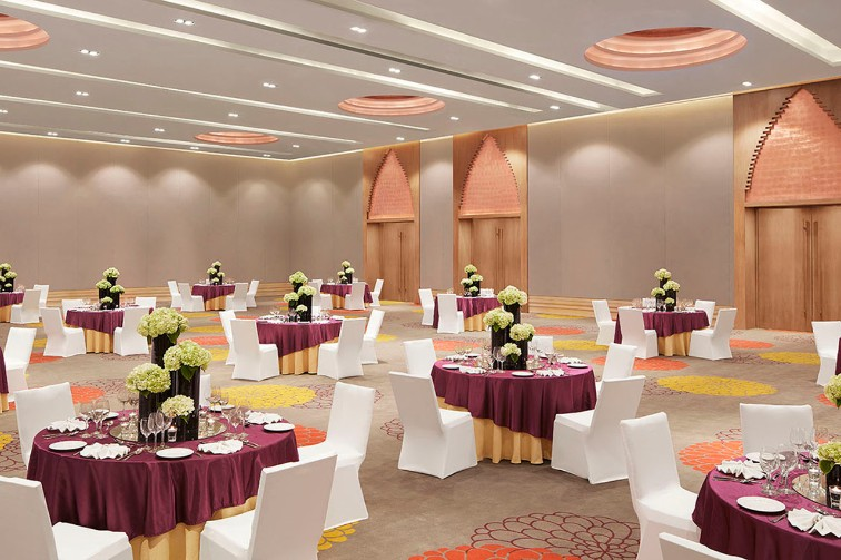 Spacious Grand Ball Room at Vivanta Guwahati