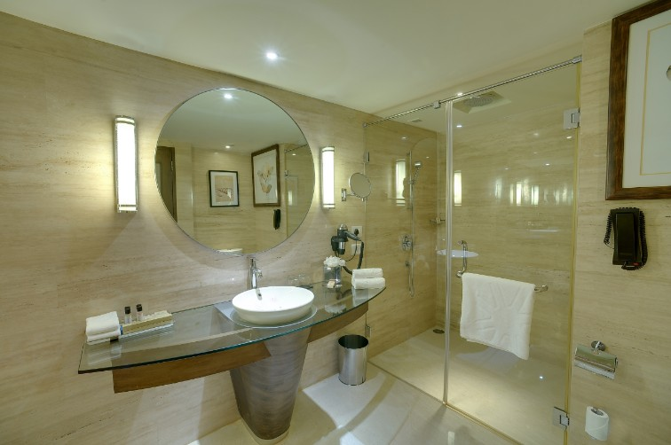Luxury Bathroom Vivanta Suite at Vivanta Goa, Panaji