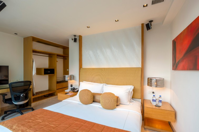 Bedroom at Loft Suite at Vivanta Bengaluru, Whitefield
