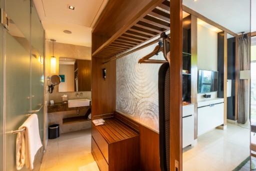 Premium Room Bathroom at Vivanta Bengaluru, Whitefield