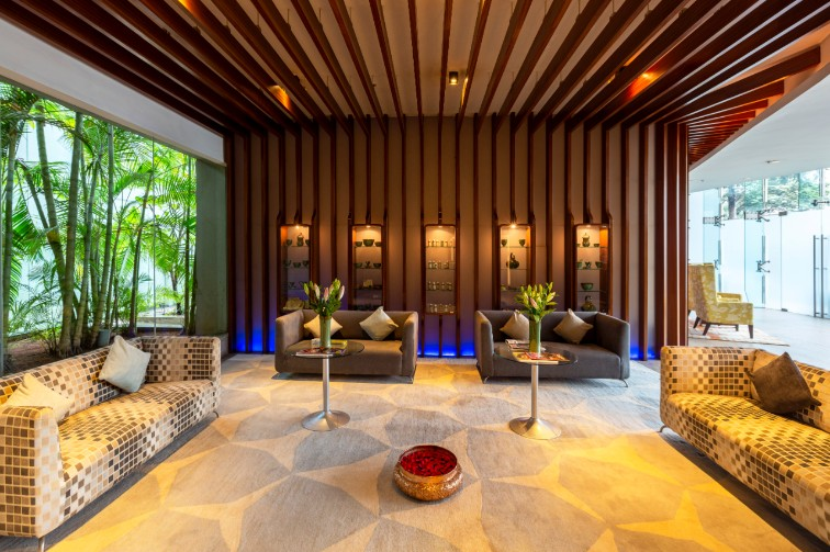 Spa Waiting Area at Vivanta Bengaluru, Whitefield