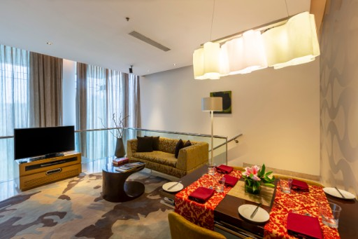 Living Room at Vivanta Suite at Vivanta Bengaluru, Whitefield